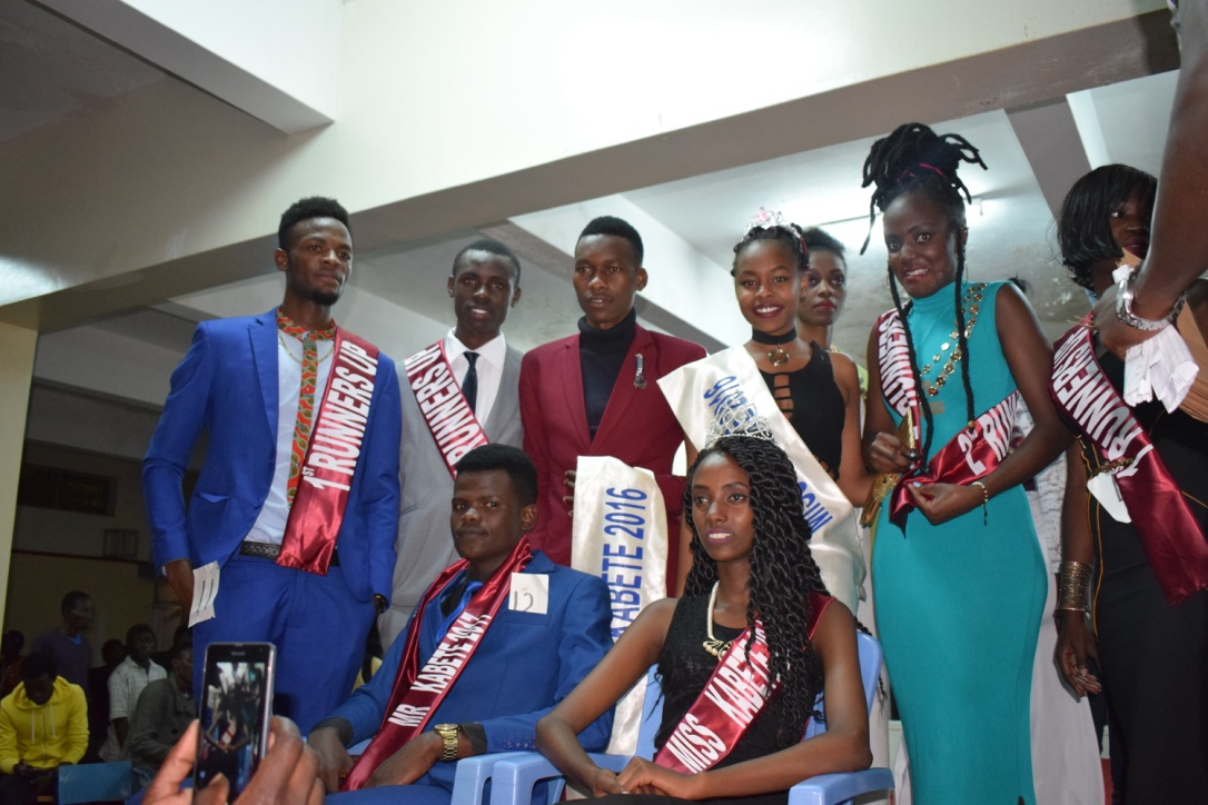 Winners at the Mr & Miss Kabete 2017