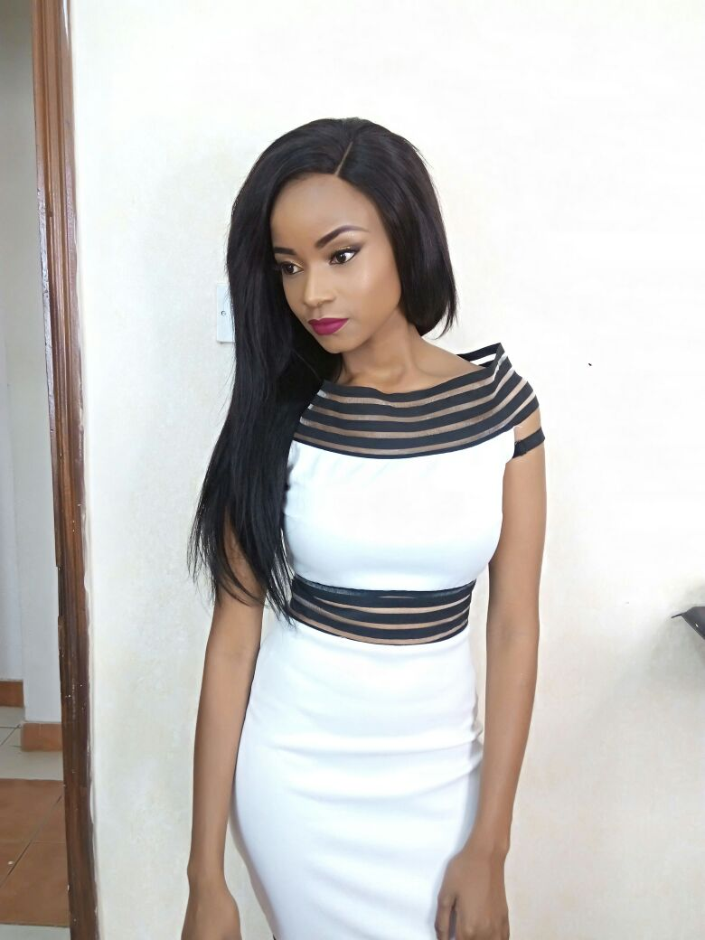 DIana Mwendwa in one of her iconic outfits