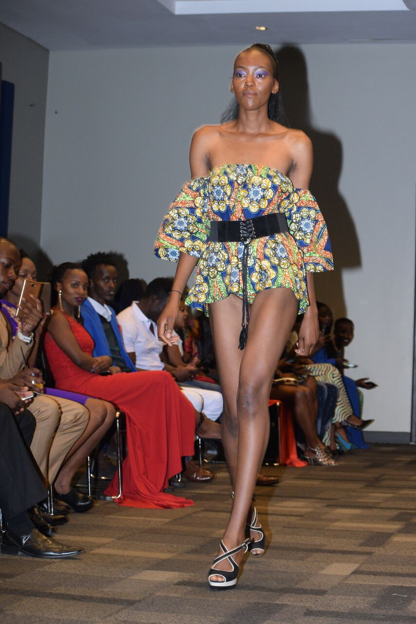 Mtindo Afrika 2017: A model showcasing a design by one of the designers at the event