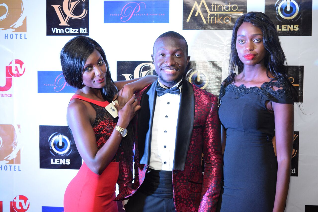 Mtindo Afrika 2017: Luxury brand Bespoke City founder and creative director Bolo Austine (center) was in attendance