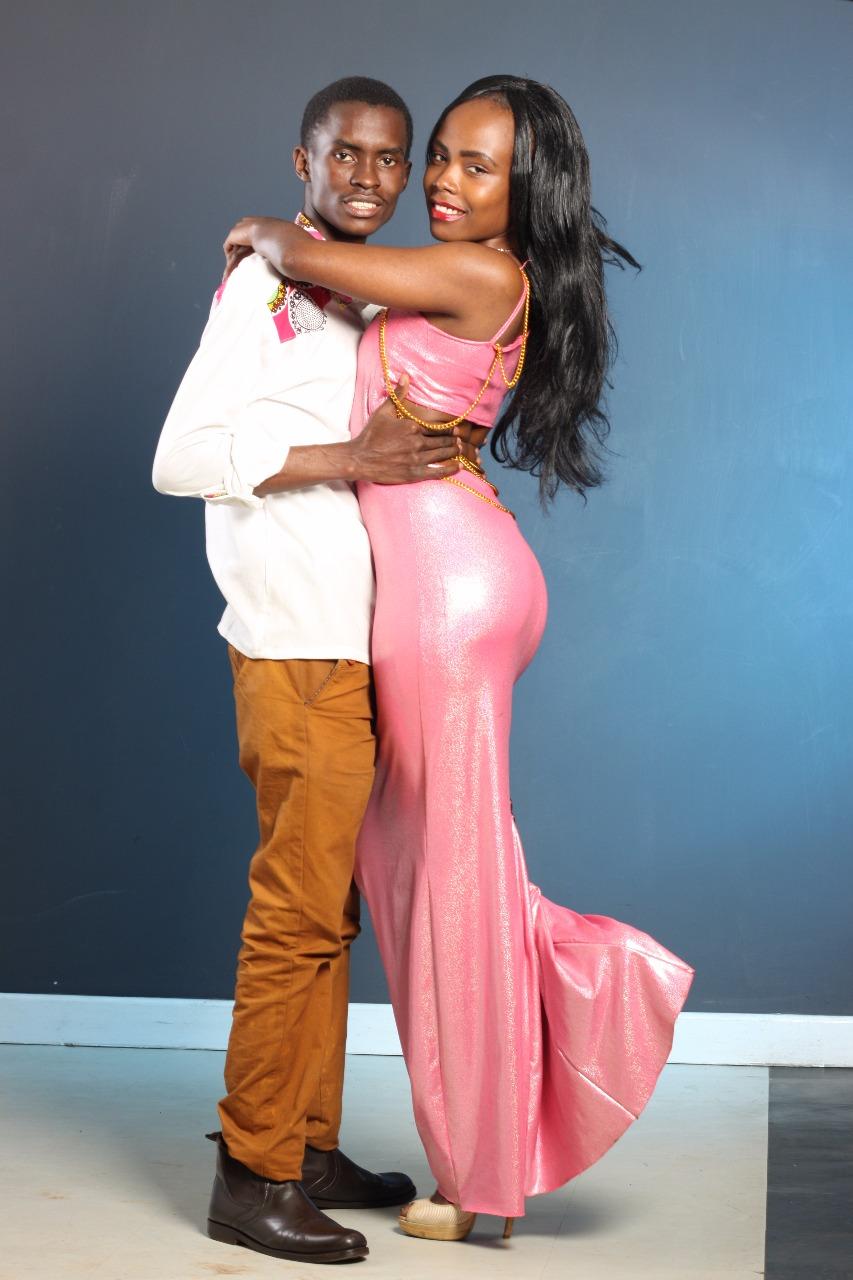 #SlayQueenAffair Fotophreak Model of the Week Gabriella Njoroge in a dress by Afrigazania Desigs