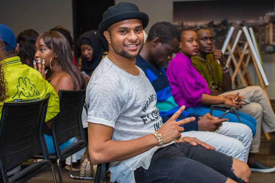 TV presenter Jamal Gaddafi is acclaimed as one of the founders of Mtindo Afrika and was also present at this year's event
