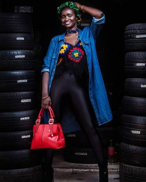Check out our Fotophreak Female model of the week Pauline Kenyatta on Instagram @runwaymodelpk