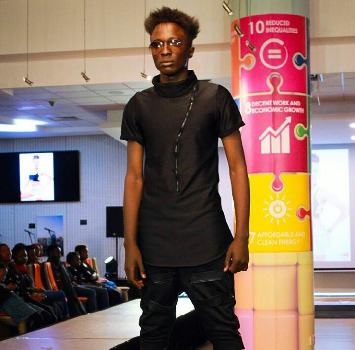 Fotophreak Model of the week Alvin Randy in action during the Africa Fashion Fusion event