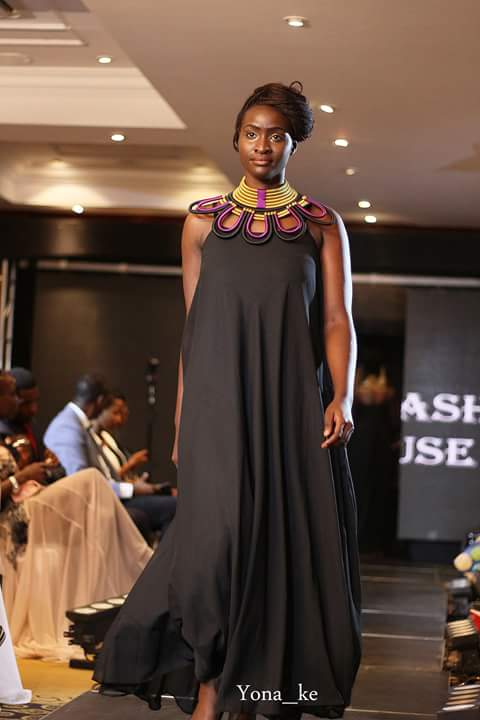 Fotophreak Model of the week Pauline Kenyatta during the Kenya Fashion Awards Gala event at the Fairmont, Norfolk Hotel