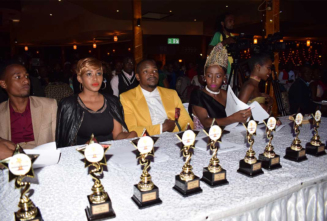 Mashujaa Awards 2017: The Judges. Center- Vinn Clizz