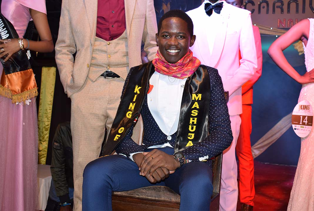 Mashujaa Awards 2017: Mr Environment Kenya 2016 Edward Karaba was crowned the new King of Mashujaa