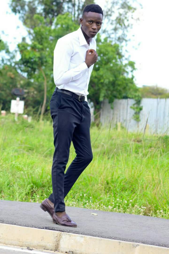 Fotophreak Model of the week: Vincent Ochieng at the Railways grounds in the Lakeside City