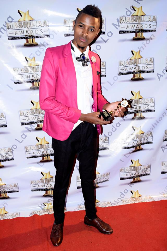 Mashujaa Awards 2017: Modelana Fashions founde and C.E.O Bruce Matheka was awarded Chief Choreographer of the Year