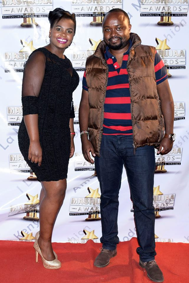 Mahujaa Awards 2017: Team Mafisi C.E.O and National Patron Jaymo Ule Msee was present