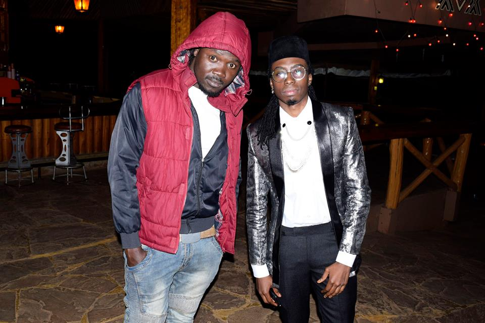 Mashujaa Awards 2017: Celebrity Hair Stylist Eric One Wash (right) at the event