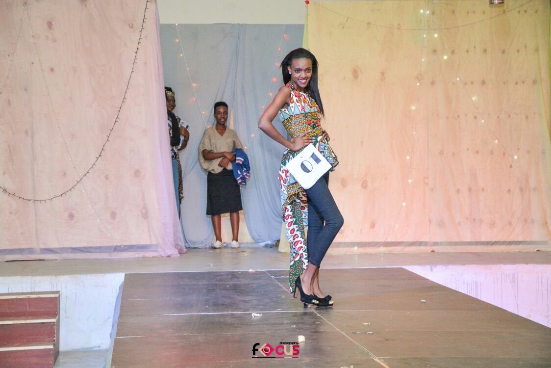 Top 20 Under 20 Models in Kenya - Mercy Grace Kavata during the Mr and Miss Westlands competition at the Westlands Baptist Church