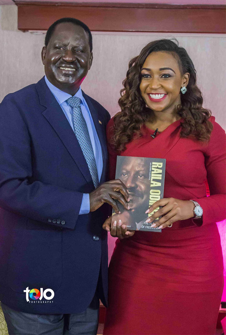 Fotophreak Magazine: Tojo photography at a past interview between Raila Odinga and celebrated KTN journalist Betty Kyallo.