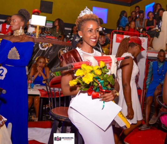 Sarah Ogake of Baraton University was crowned the new Face of Universities Eldoret 2018