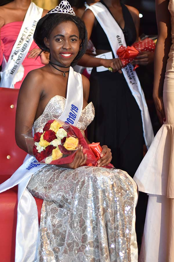Ruth Kathina from KCA University was crowned the new Miss Untamed Kenya 2018