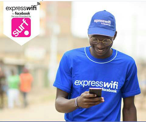 Mr Multimedia University 2018, Richard Oloo appearing in one of the Express Wifi ads last year