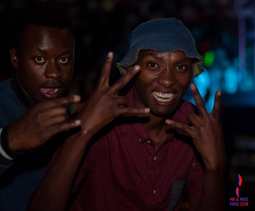 Turn up kings and queens showed up in large numbers to witness the crowniong of the new Mr and Miss MMU 2018
