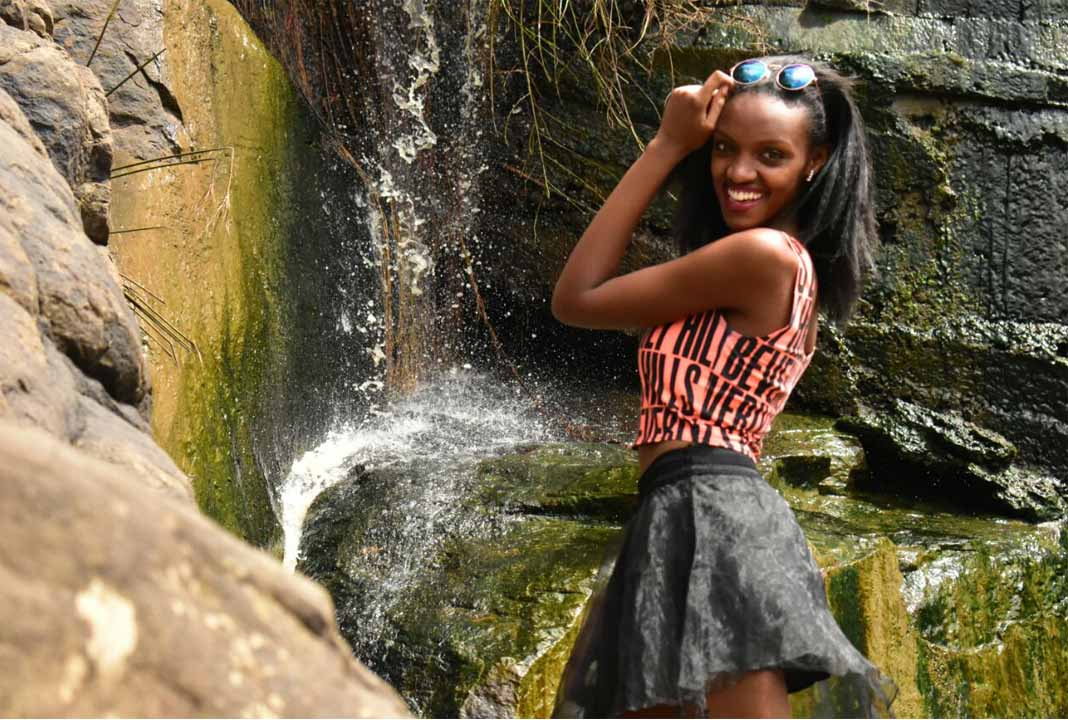 Mercygrace Kavata has 2 years of experience in modeling and is currently undertaking Journalism at MMU