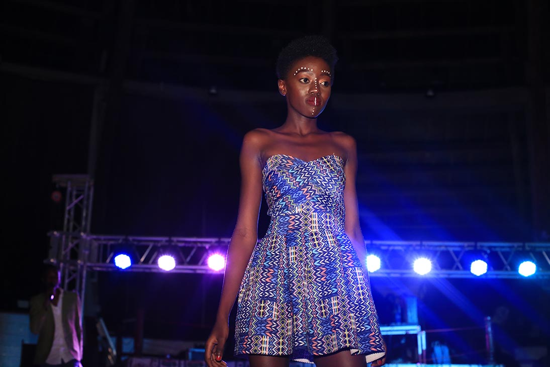 Face of Nivea 2017 winner Celly Rue Brown curtain raising at the Mr and Miss MMU 2018