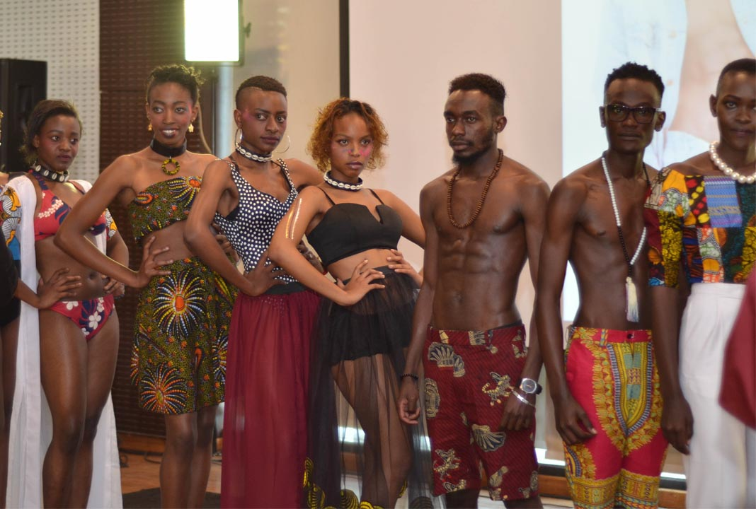 The Models their what they do best at the 2nd edition of the African Fashion Fusion