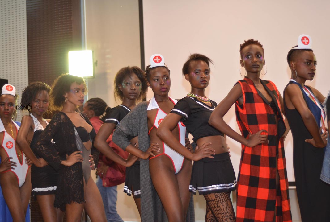 Training is currently on going for top selected models who will be strutting the runway on the 4th of August this year