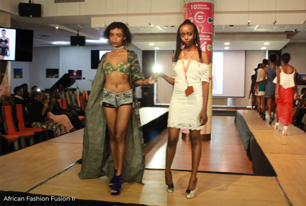 The runway experience at the African Fashion Fusion is just something spectacularly different