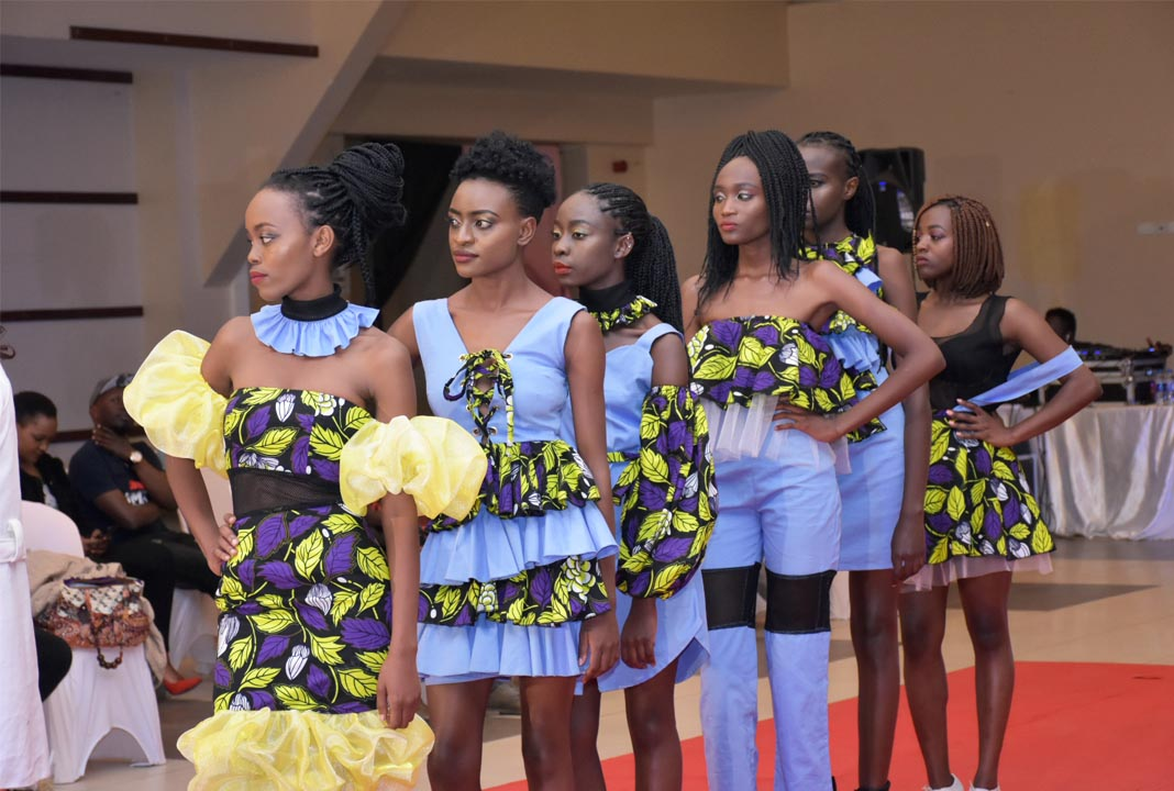 Designs by Lorna & Kendi of Zuberi concepts being showcased at the third edition of the African Fashion Fusion - 2018. Images courtesy of Tojo Photography