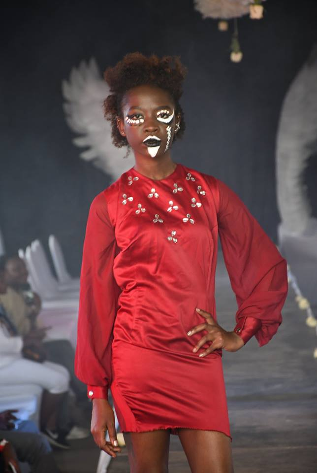 Fashion Couture Affair: Fashion Model Sheila Akinyi was queening on the runway for this event for the second time in a row.