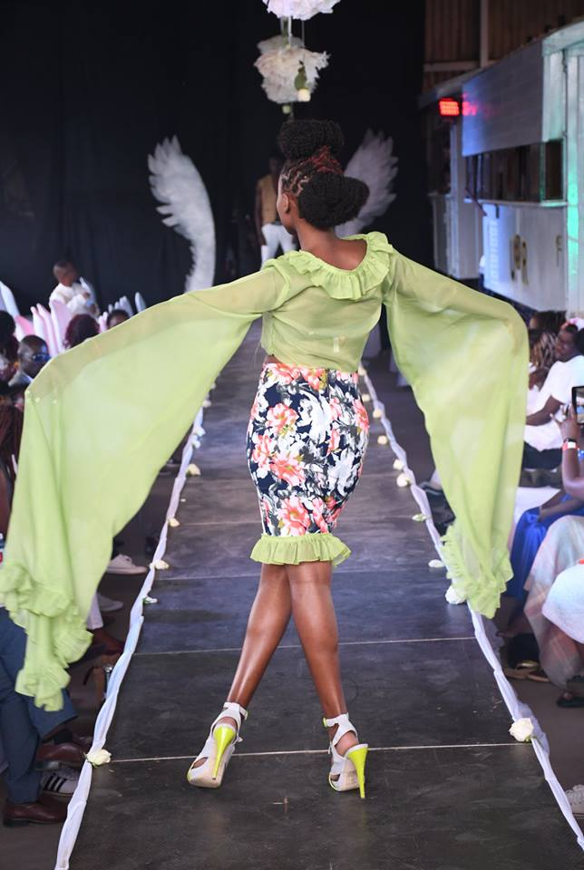 Beautiful Designs being showcased on the runway at the 4th Edition of the Fashion Couture Affair