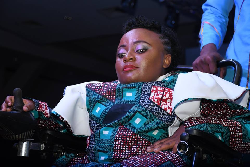 Disability meets the runway at the JW Show 2018. Photo: Mesmeric Kenya