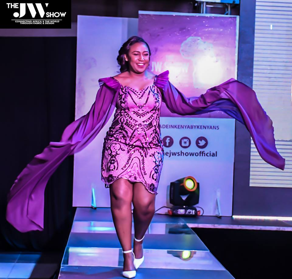 She got wings to fly! Flair by Betty CEO Betty Kyallo dancing her way to the panelists bench at the JW Show 2018