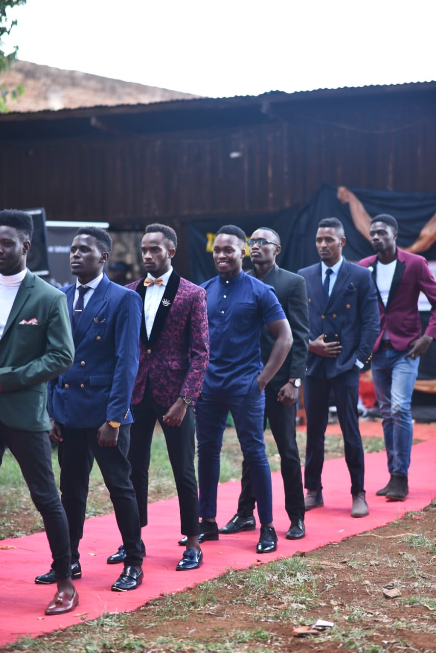 Models from various fashion houses graced the runway at the Simama na mtoto event.
