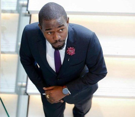 Kenyan Fashion designer Nick Ondu