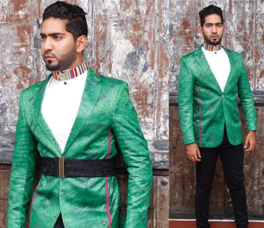 Chef Ali Mandhry has been spotted on many occasions rocking designs by John Kaveke