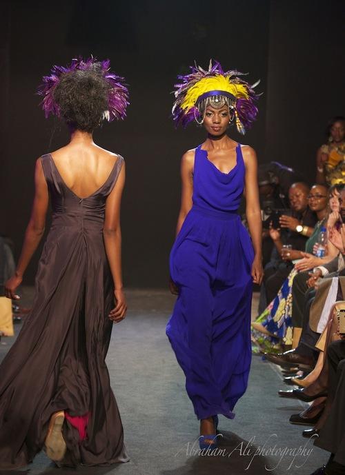 Models Showcasing Designs at a previous FAFA event by Ann Mccreath